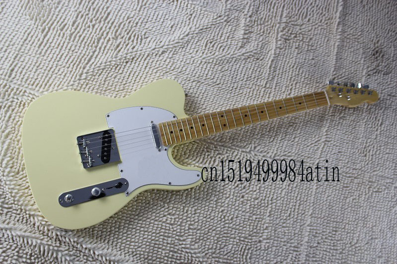 Free shipping ! TELE solid body Guitars Telecaster OEM Electric Guitar in stock @8 new electric guitar strings chrome tele neck pickup telecaster