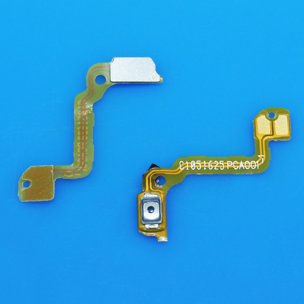 For OPPO A59 Power On/Off Button Inner Swtich Key Flex Cable Ribbon FPC Replacement Repair Parts + Tracking Cord WP-213