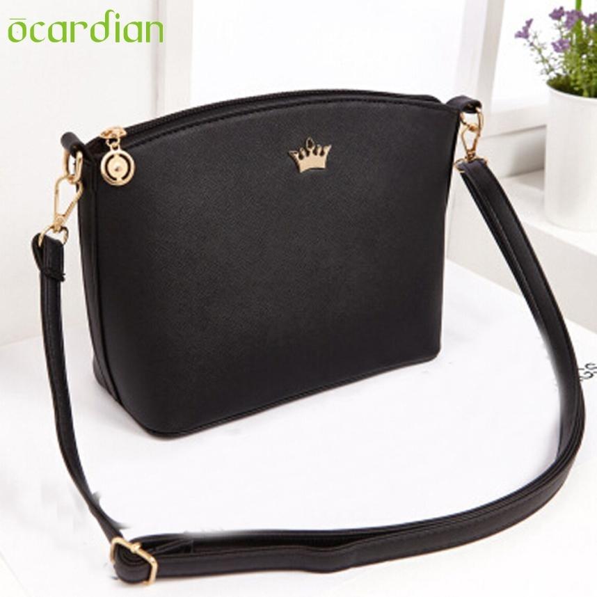 Women PU Leather Messenger Crossbody Shoulder Bag Handbag Purse Tote Comfystyle