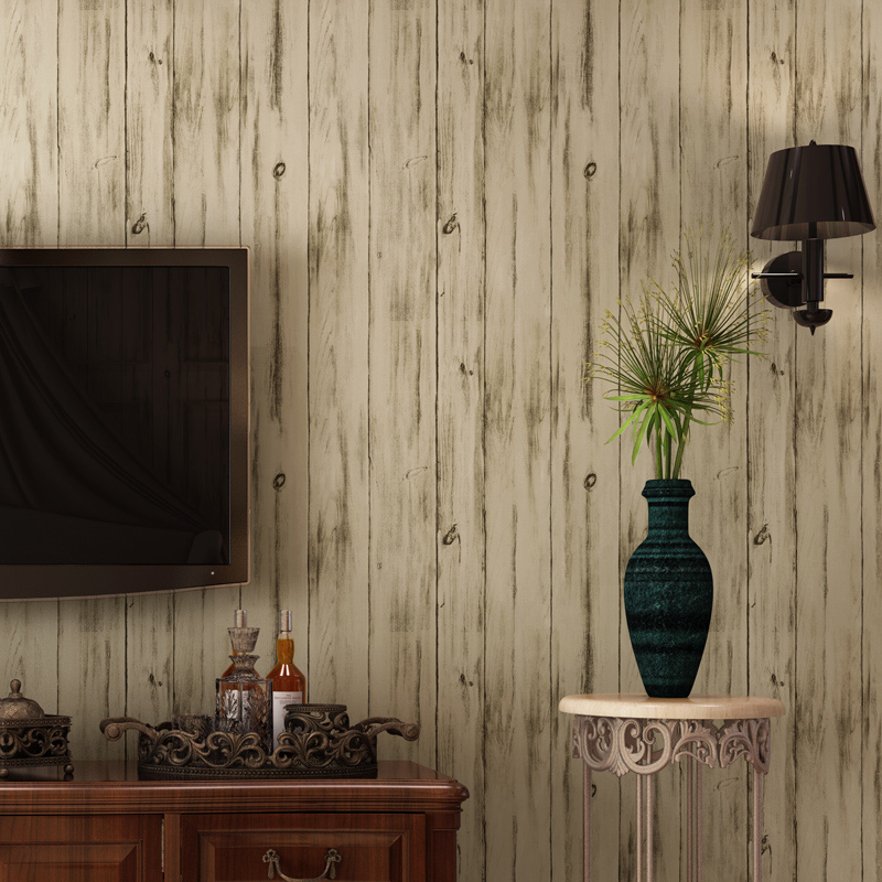 Vintage Wallpaper 3D Imitation Wood Texture Wall Paper For Bedroom Living Room Non-woven Vertical Stripe 3D Panel Wall Covering 3d wood man football background 3d wallpaper murals living room bedroom study paper 3d wallpaper