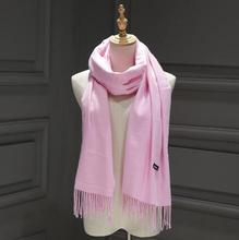 200cmx70cm Winter Oversize Simple Fashion Warm Cashmere Scarf