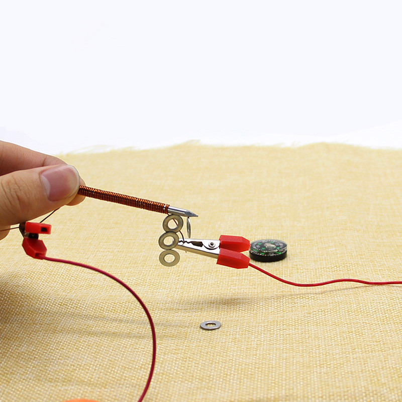 Electromagnet Educational Toys DIY Discovery Toy Funny Gift For Kids Handmade Electromagnets Let Your Children Learning So Easy