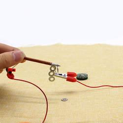 Электромагнит развивающие игрушки DIY игрушка открытие смешной подарок для детей ручной работы Электромагниты пусть ваши дети обучения так