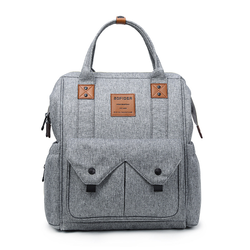 Multi-function Baby Diaper Bag Backpack For Mom Maternity Bags Mother Baby Stroller Organizer Diaper Backpack Large Nappy Bag 6 colors free shipping multi function inner container hobos nappy diaper baby diaper predelivery bags backpack hanging