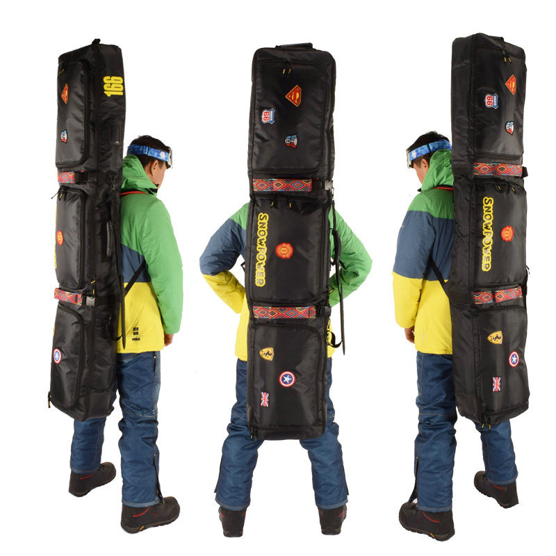 2019 nouveau sac de Ski 146 cm 156 cm 166 cm 180 cm sac de Snowboard homme femmes Sports de plein air sac à dos sac à bandoulière unique sac de Ski - 2