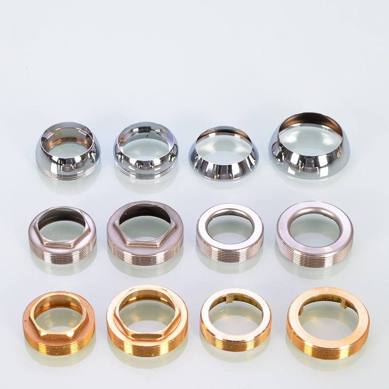 Kitchen Faucet Accessories 35mm - 50mm Water Faucet Spool Gland Repair Parts Stainless Steel Copper