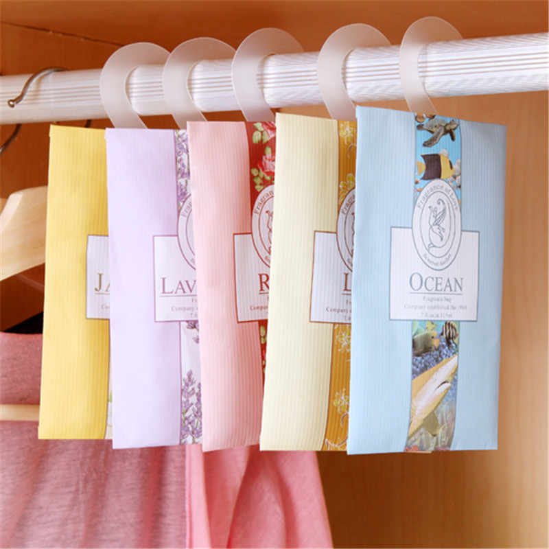 Home Fragrance Sachets ore Wardrobe Aromatherapy Sachets Wardrobe Sack Mould & Pest Control Car Odorless Sachet