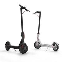 Lk706 Xiaomi Алюминий сплав Электрический скутер для взрослых детей мини Портативный Складная Двойная застежка PU Whee светодиодный отдыха скутер