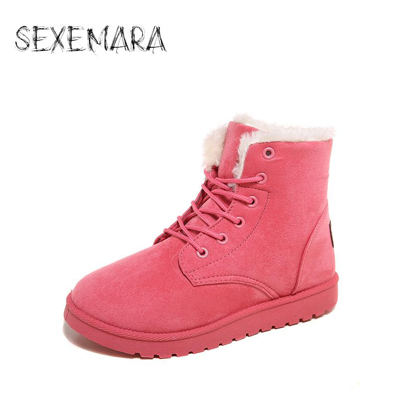 Women Ankle Boots For Women Botas Femininas Botines Mujer 2016 Ladies Snow Boots Black Winter Boots Women Shoes Bota Feminina fashion women snow ankle boots fur bota femininas zapatos mujer botines botte chaussure femme botas winter woman shoes flat heel