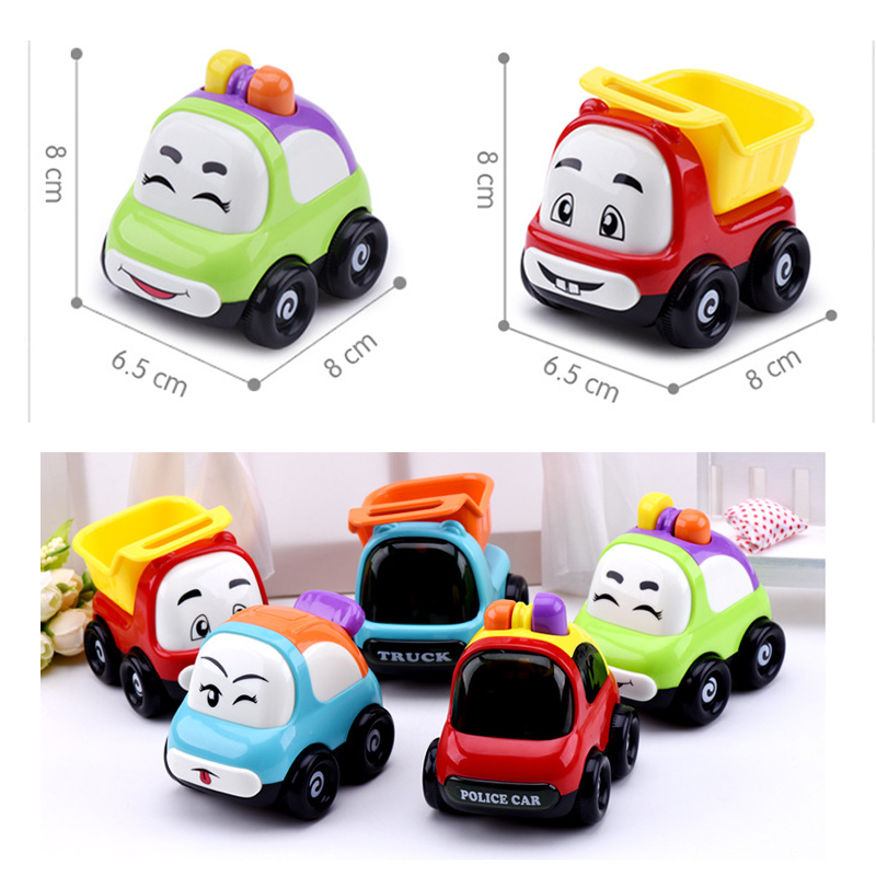 3 Pcs Lot Toys For Children Truck Police Sports Car Kids Dinky Toys