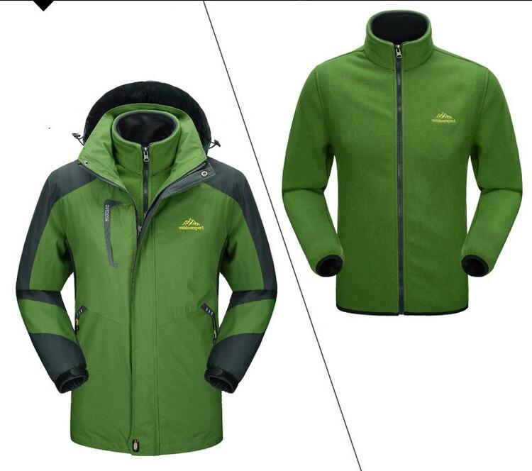 Locmemb 3 em 1 jaqueta de esqui