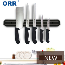Magnetic Knife Holder wall mounted kitchen accessories black 33/38/50/55cm ORR