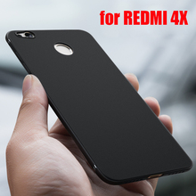 Cyato case for xiaomi redmi 4x matte Soft TPU Ultra Thin light Shockproof cover bumper on CASE