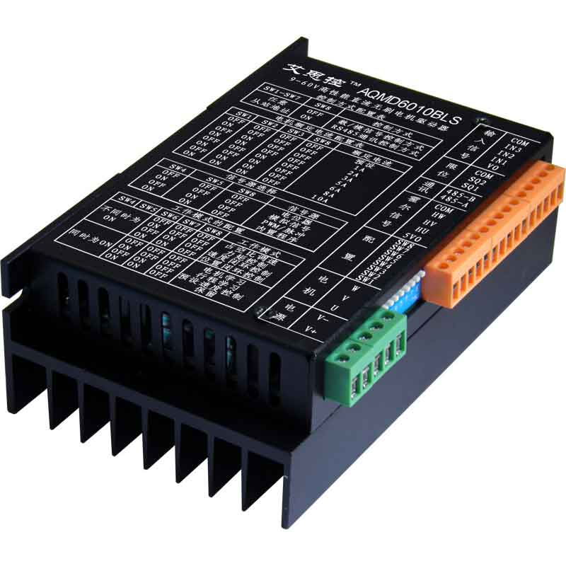 12/24/36/48/60V 600W DC brushless motor driver current / speed / position PID control image