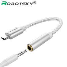 USB Type C to 3.5mm Earphone Headphone Cable Adapter USB-C to 3.5mm Jack Aux Cable for Letv 2 2pro max2 Pro 3 Xiaomi 6