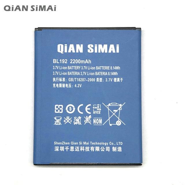 QiAN SiMAi 2200mAh Battery For Lenovo A300 A750 A388T A529 A680 A590 A328 A328T A526 Cellphone BL192 + Tracking Code
