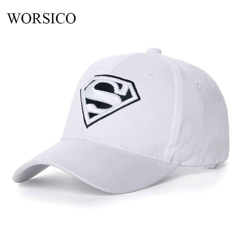 Summer Superman Baseball Cap Women Pink White Women's Snapback Caps Outdoor Casual Sun Hat Gorras 2017 2016 korean superman batman children hip hop baseball cap summer sun hat breathable boys girls snapback caps
