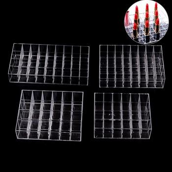 40/36/24 soporte organizador de rejillas caja de plástico multifuncional hogar dormitorio soporte de lápiz labial estuche cosméticos herramientas de maquillaje