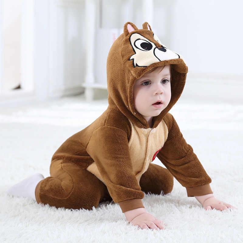 d999ec7b3 Winter Children Onesie Cute Chipmunks Kids Girls Boys Animal Kids Clothes  Cosplay Pajamas Halloween Christmas Costumes