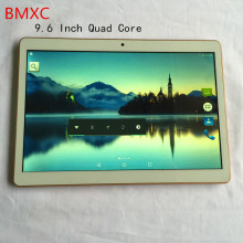 9.6 Pulgadas Tablet pc Original 4G LTE teléfono BMXC Quad Core pc de la tableta del Androide 5.1 WiFi GPS Bluetooth FM 2G + 16G Tablets Pc