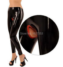 Latex Leggings Women Sexy Latex Pants Open Crotch For Women Plus Size Hot Sale
