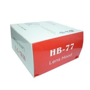 Image 2 - 10 قطعة/الوحدة HB 77 HB77 كاميرا عدسة هود لنيكون AF P DX 70 300 مللي متر f/4.5 6.3 G ED VR/إد كاميرا عدسة مع حزمة مربع