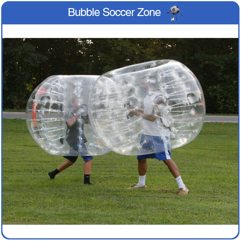 Free Shipping 1.5m PVC Inflatable Football Bubble Ball Bumper Ball Body Zorbing Bubble Soccer Human Bouncer Bubbleball Zorb Ball
