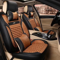 3D Sports Car Seat Cover Cushion High Grade Leather Car Cover Car Styling For BMW Audi