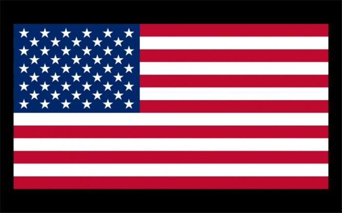 America; the United States of America USA US Flag National Flag Banner 21*14cm No flagpole Z416-MG