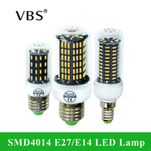 E14 LED E27 Светодиодная лампа 220 В 4014smd Светодиодная лампа 38 55 78 88 140 светодиоды люстра свеча Bombillas LED лампада Освещение