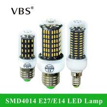 ФОТО led corn lamp smd 4014 e27 e14 4014smd led lights corn led bulb 38 55 78 88 140leds chandelier candle lighting home decoration