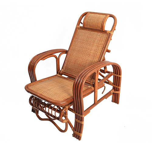 Ivy Classic Vintage Wicker Chair Recliner Rocking Chair Indonesian Rattan  Chairs Rattan Day Bed Folding Bed