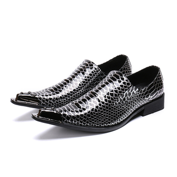 Lace up Mens Fashion Dress Slip On Wedding Oxfords 2018 Spring Autumn Real Leather Italian Office Businessman Oxfords Shoes
