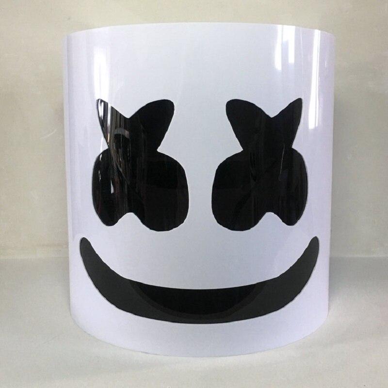 Casque de guimauve en PVC masque de guimauve DJ accessoires de Concert futurs Fans de musique de guimauve basse