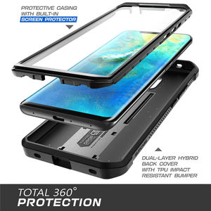 Image 3 - For Huawei Mate 20 Pro Case LYA L29 SUPCASE UB Pro Heavy Duty Full Body Rugged Case with Built in Screen Protector & Kickstand