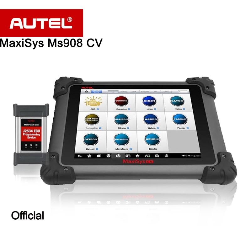 Autel Maxisys 908 Cv Diagnostic Tool For Heavy Duty Ms908