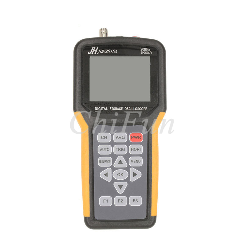 buy free shipping jds2022a double channel handheld digital oscilloscope 20mhz. Black Bedroom Furniture Sets. Home Design Ideas