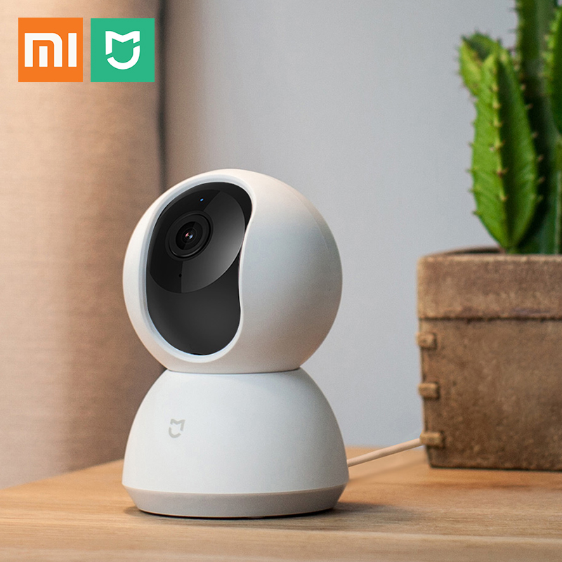 Xiaomi Mijia Smart Camera With Cradle Head 1080 HD Panoramic Camera 2MP Wifi Two-way Audio Night Vision Cctv Network Cam(China)