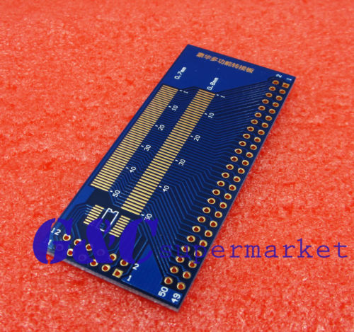 Multiple 0.5/0.7/0.8/1.0mm Pitch TFT LCM LCD Adapter Board FPC module SMD DIP ...