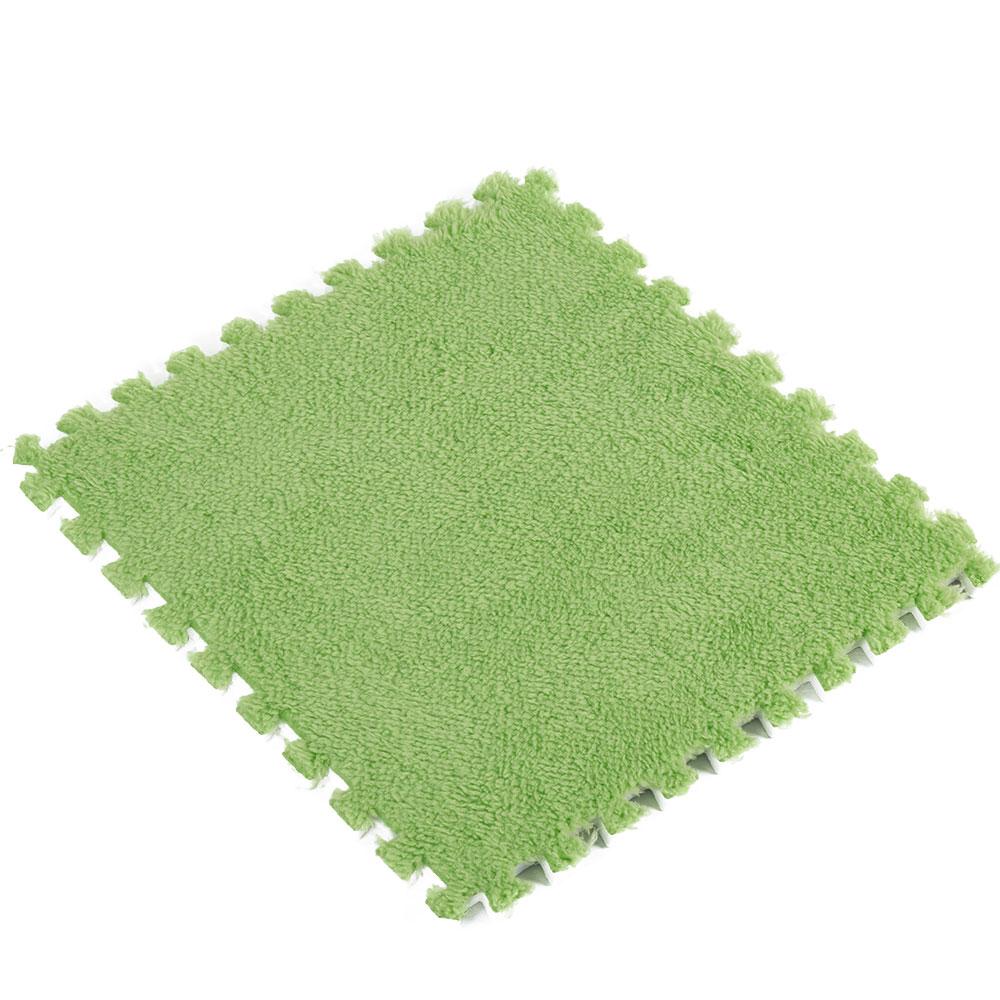 Ребенок ползает коврики покрытие для пола Сращивание ковры 30*30*0,6 см EVA пластик пены 30*30*0,6 30*30*0,6 водостойкий противоударный - Цвет: green