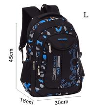 2 Size Waterproof Children School Bags For Boys Orthopedic Kids primary School Backpacks Schoolbags Kids Mochila Infantil