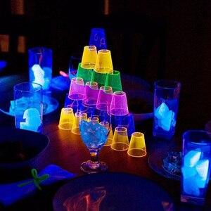 Image 3 - UV Led Strip light 5050 SMD 60leds/m 395 405nm Ultraviolet Ray LED Diode Ribbon Purple Flexible Tape lamp for DJ Fluorescence