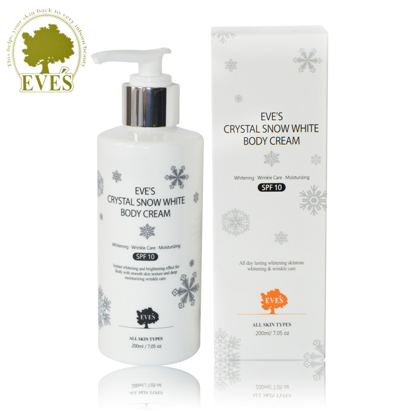 2016 Real Psoriasis South Korea's Eve 's Crystal White Deep Body Lotion The Whitening Pale Spot Smooth And It Moisturizes Skin