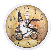 Wall Clock wall clock 12 Inch Baker Classic Kitchen Decoration Time Accessories  Home Gift Essential Products