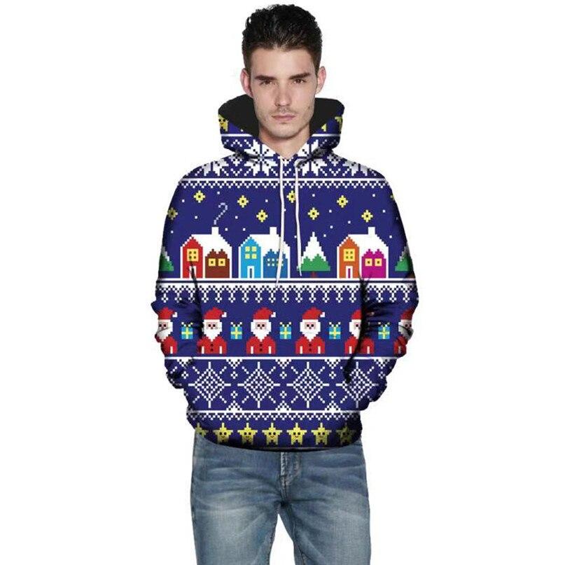 Christmas Couples Hoodies Women Man Running Jackets 3D Print Long Sleeve Winter Hoodies Top Blouse Shirts #2N20 (8)