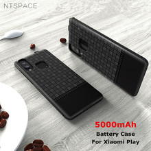 NTSPACE Power Case For Xiaomi Mi Play Battery Charger 5000mAh Extenal Backup Bank Back Clip Charging