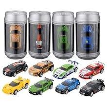 8 цветов Лидер продаж 20 км/ч/Кокс Мини RC автомобиль радио дистанционное управление Micro гоночный 4 частоты игрушка для детей