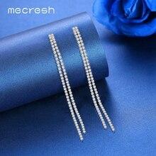 Women Long Tassel Drop Earrings
