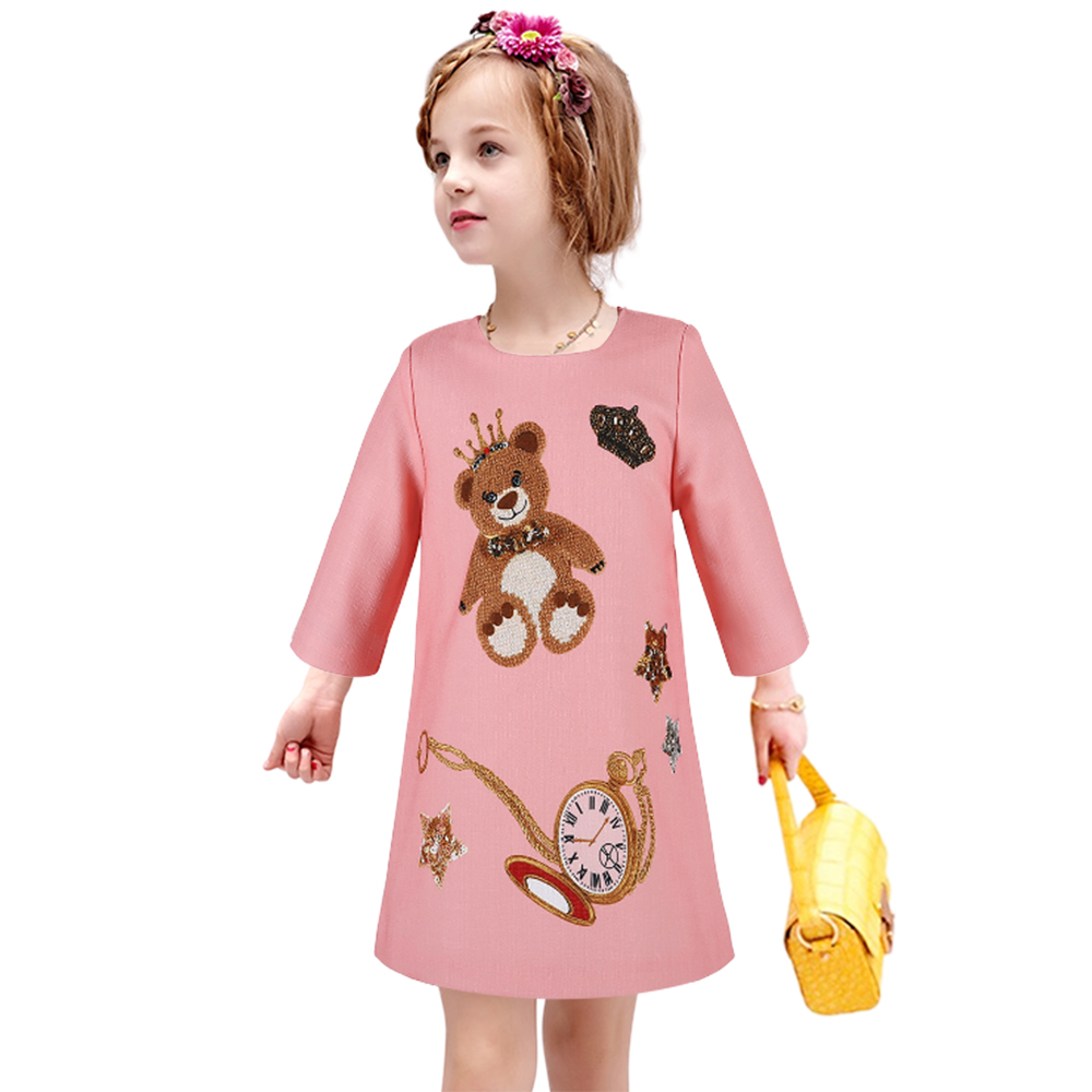 795249697 Cut Price Girls Dress Winter Children Clothing Brand Girls Dress ...