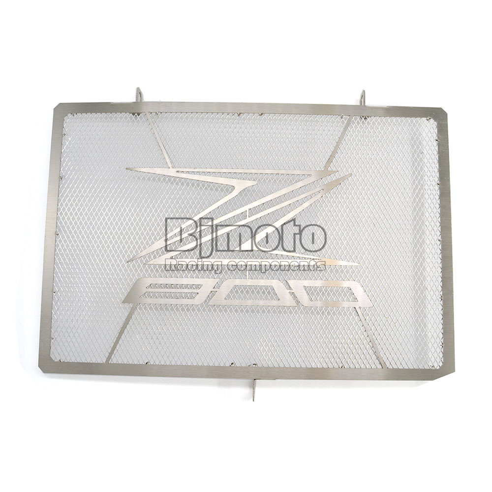 ФОТО BJGLOBAL Motorcycle Engine Radiator Bezel Grill Guard Cover Protector Sliver For KAWASAKI Z800 2013 2015